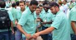Trabalhadores da Vale participam de assembleia sobre pagamento da PLR