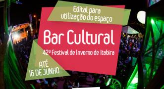 Fundação Cultural abre edital para ocupação do Bar do festival de inverno