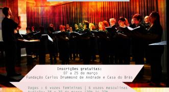 Fundação Cultural seleciona vozes para o coral