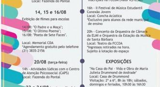 Agenda da Fundação Cultural para esta semana tem conferência sobre o setor