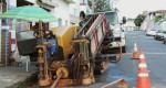 SAAE começa a substituir rede de distribuição de água