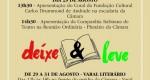 Eventos marcam homenagens a Carlos Drummond de Andrade