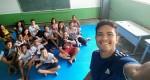 Projeto Jiu-Jitsu Salvando Vidas atende crianças carentes do bairro Gabiroba